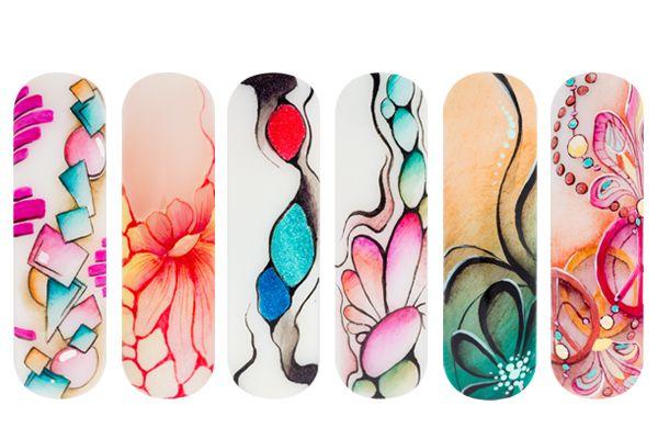 Aukje Veltman | Magnetic Nail Design