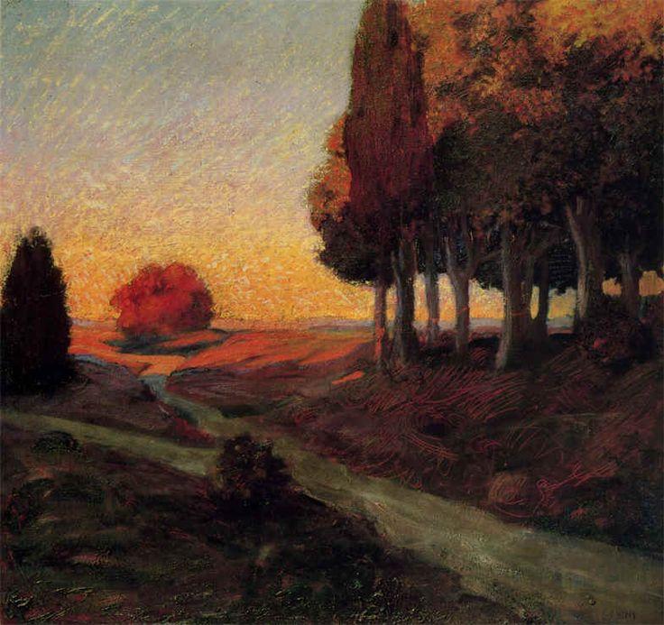 Toscane, par Galileo Chini, ca.1905