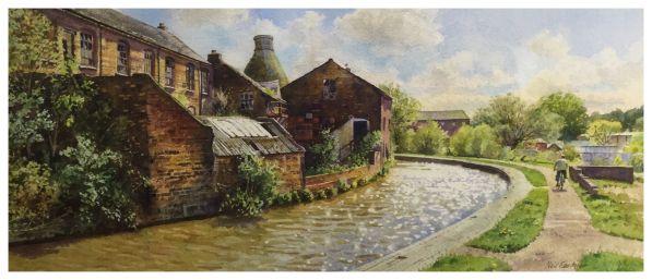 Sparkling Canal at Middleport by Neil Faulkner