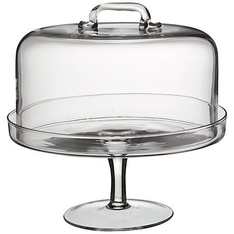 Buy LSA Serve Cake Stand and Dome, Dia.26.5cm Online at johnlewis.com