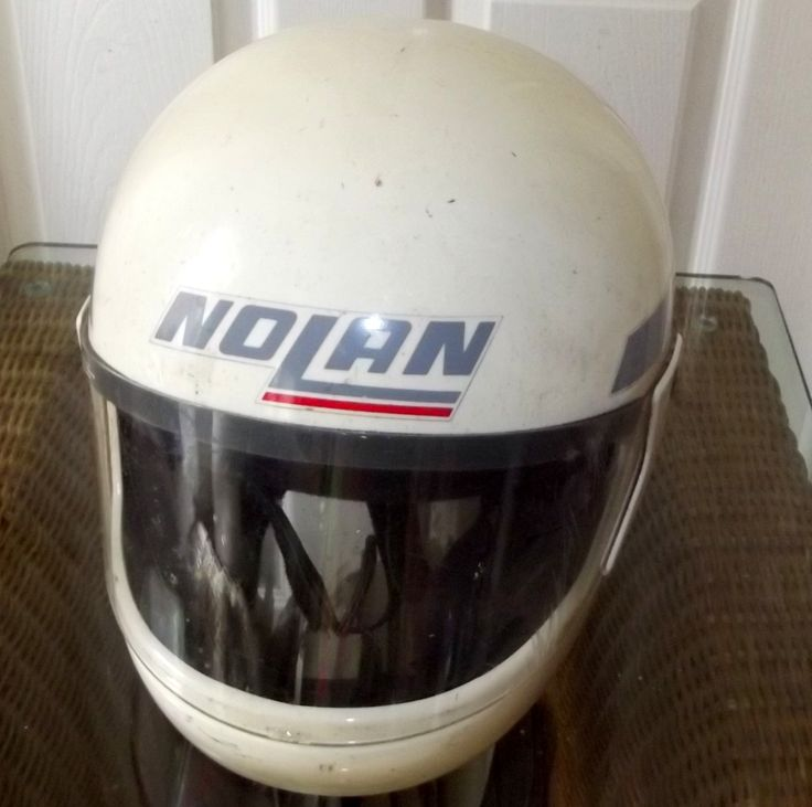 Nolan Helmet 1987 . Sertified to British Standart  BS 6658-85. Type B by BountyFromThePast on Etsy
