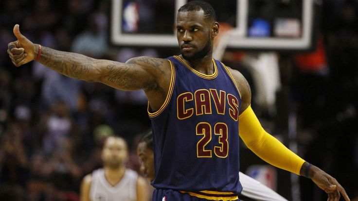 LeBron James is giving kids from Akron - ones with challenging backgrounds like his - the chance to go to college for free.