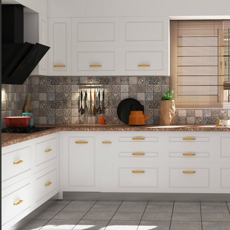 89 best modular kitchens images on pinterest kitchen designs who says modular kitchens cant have old world charm solutioingenieria Gallery