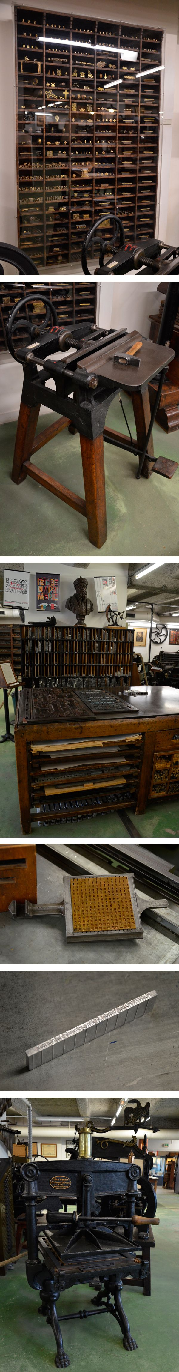 Si vous passez par Nantes n'hésitez pas à aller visiter le Musée de l'imprimerie ! Photos : http://www.pointypo.com/musee-imprimerie-nantes/
