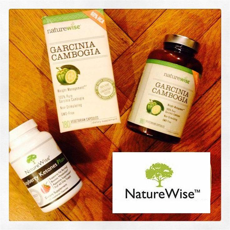 NATUREWISE : Garcinia Cambogia & Cétones de Framboises + http://club.beaute-addict.com/blog-beaute/commentaire-bilan-de-ma-cure-minceur-avec-naturewise-776736-0.php