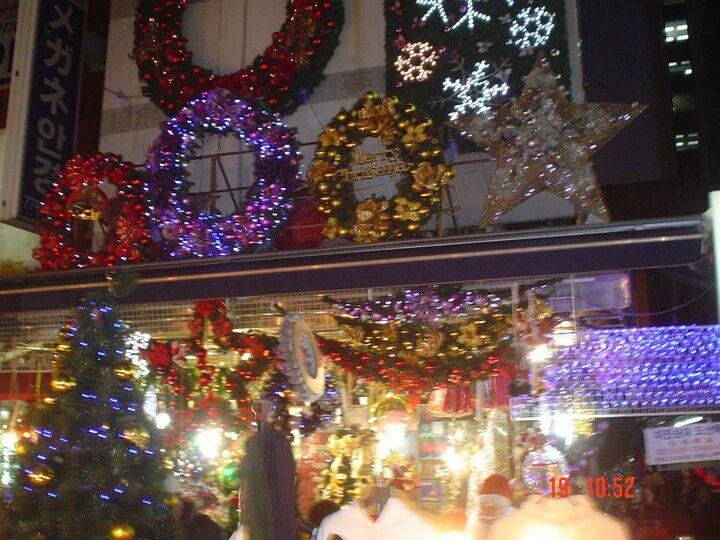 Christmas in Gwangju Korea