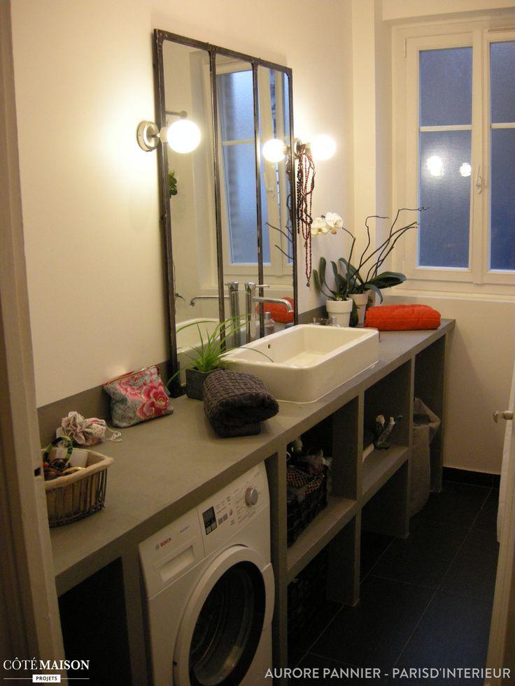 Les 25 meilleures id es de la cat gorie salle de bains industrielle sur pinterest miroirs de for Idee de salle de bain