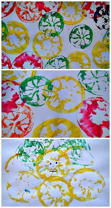 "Printmaking with ""Citrus"" Shapes: Design your Own Masterpiece! {sulia article with additional links}"