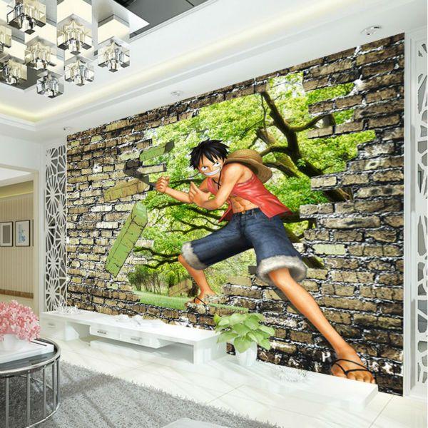 one piece luffy wallpaper anime photo wallpaper custom 3d