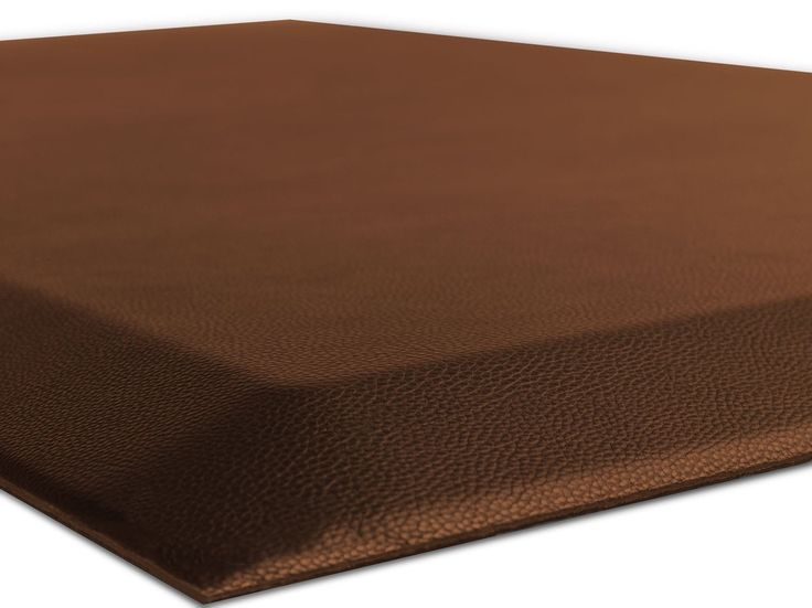 """The Original 3/4"""" GORILLA GRIP (R) Premium Anti-Fatigue Comfort Mat, Perfect for Kitchen and Office Standing Desk, Ergonomically Engineered, 6 Colors and 3 Sizes, Non-Toxic, 70x24 inches (Brown)"""