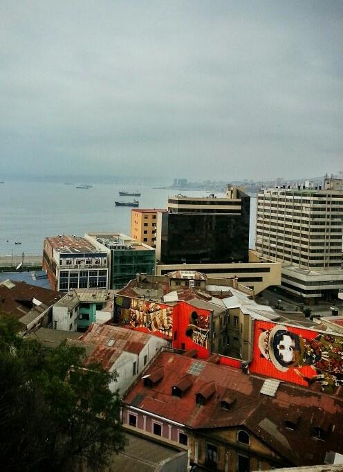 Valparaíso's port.