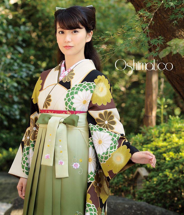 卒業式の着物: 小振袖&袴