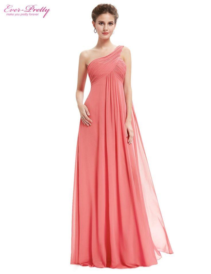 Купить Вечерние платья 9816 линия одно плечо оборками мягкий длинные 2015 новый Vestido де феста лонгои другие товары категории Вечерние платьяв магазине Ever Pretty's storeнаAliExpress. платья вышивка и платье сирени