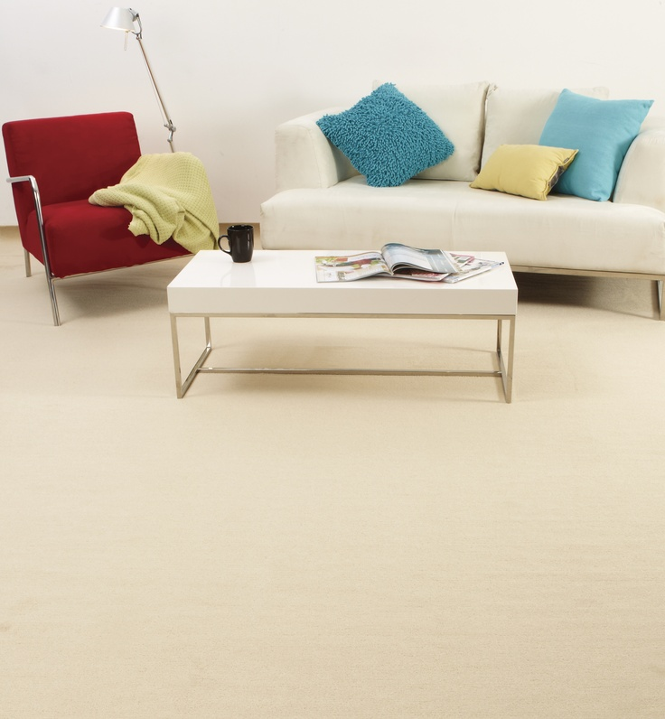 redbook plush pile carpet. Luxurious underfoot and perfect for the living room or bedroom