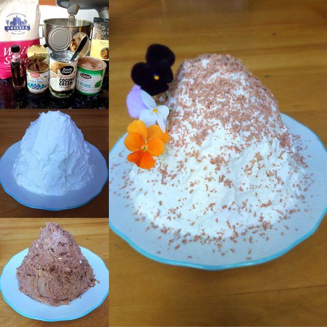 Vegan Recipes: Vegan Monte Bianco