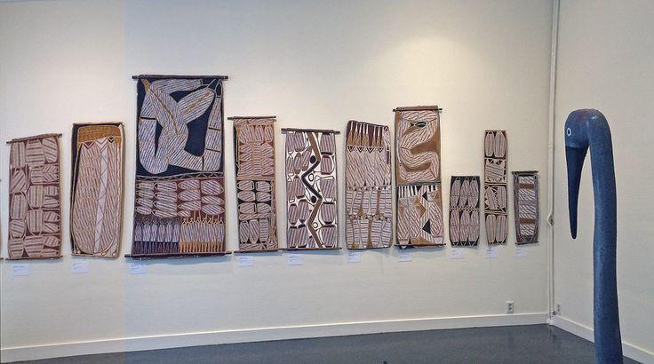 Exposition au Musée d'Art Aborigène d'Utrecht. #AAMU #Utrecht #artaborigene #australie #Aboriginal