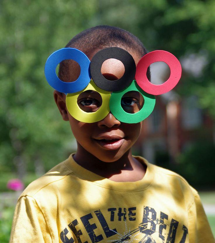 Life in Wonderland: DIY Olympic Eyeglasses