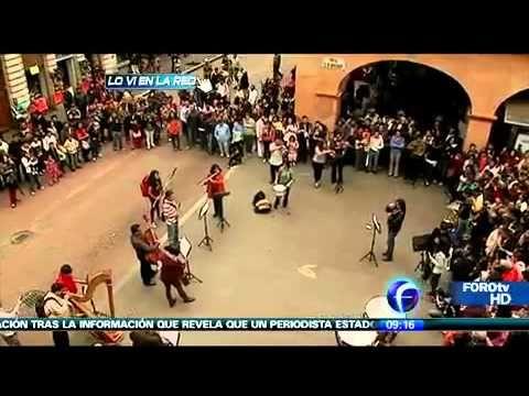 Flashmob Orquesta Filarmónica de Toluca en Matutino Express-Foro TV