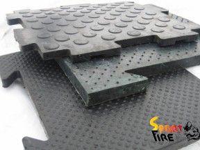 Большой выбор модульных напольных резиновых покрытий предназначено для спортивных и тренажерных залах