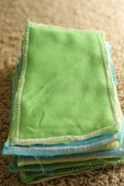 Cloth Wipes and wipe solution diy