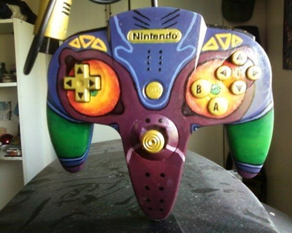 Majora's Mask N64 Controller