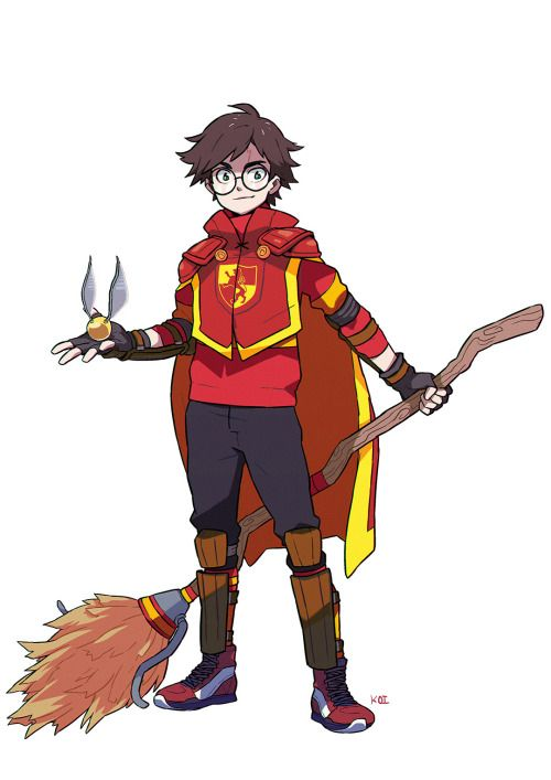 Harry Potter Anime Style - Koi Carreon