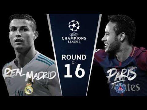 Real Madrid Vs PSG skills 2018