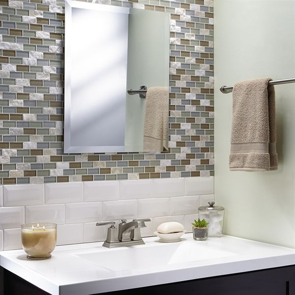 Shop American Olean  Starting Line Gloss White Glazed Ceramic Wall Tile (Common: 3-in x 6-in; Actual: 3-in x 6-in) at Lowe's Canada. Find our selection of backsplashes & wall tile at the lowest price guaranteed with price match + 10% off.