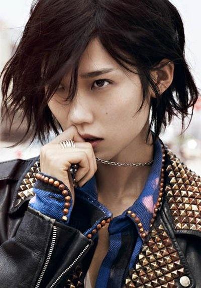 A tribute to Freja Beha Erichsen Vogue China Aug 2011 featuring Tao Okamoto
