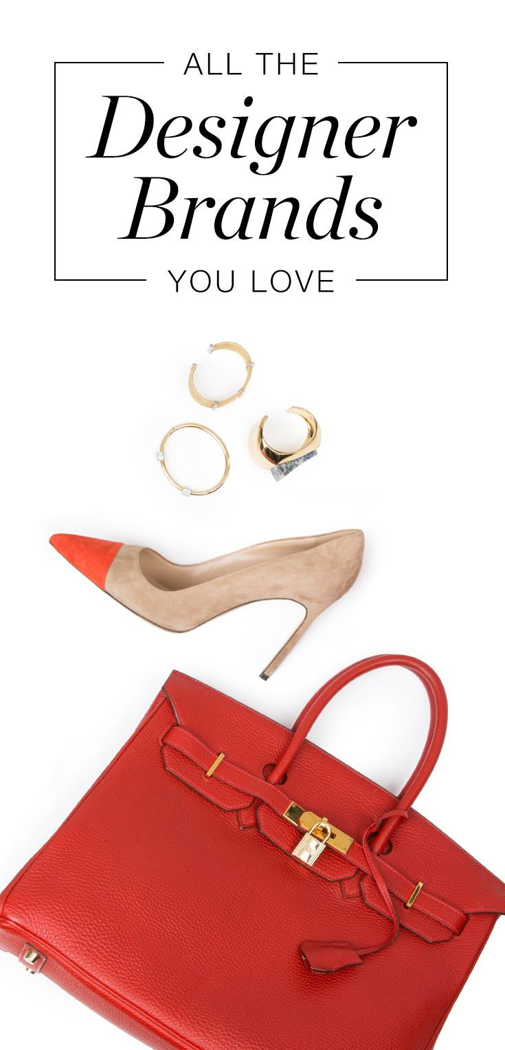 The RealReal is the leading authenticated luxury consignment shop. From coveted Manolo Blahnik pumps to handbags by Hermès, Chanel, Louis Vuitton and more, it's your go-to source for designer finds at up to 90% off retail. Each item is fully authenticated by our team of in-house experts, and thousands of new items are added to the site daily. Our collections feature every style, color and size, but items sell fast! Sign up and shop now to snag the designer pieces you've been waiting for.