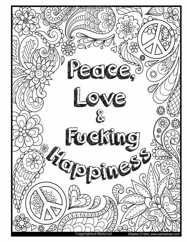 Pin by Michele Cunningham on COLORING | Swear word ...