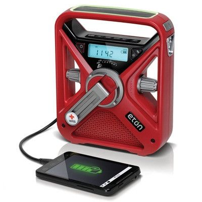 Survival Charger - Great way to have emergency power for a phone. Put it in the trunk of your car as a just in case.