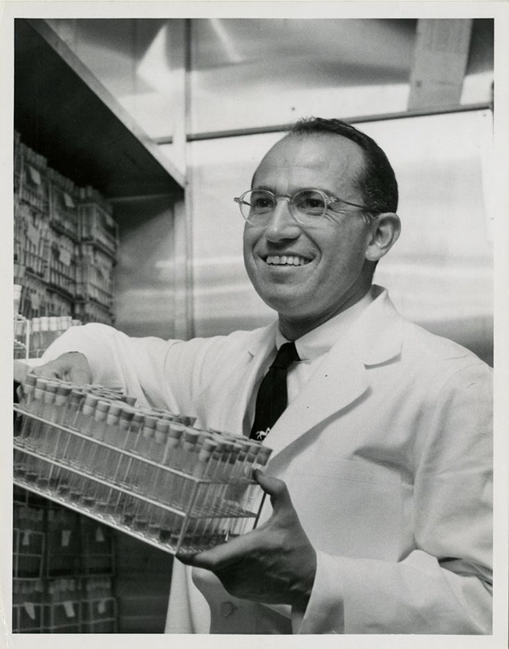 A biography of Jonas Salk, the first man to develop a vaccine against polio and a popular hero.