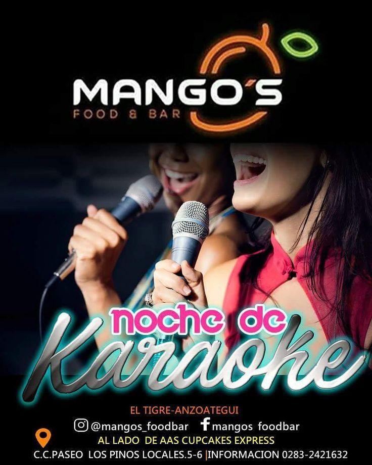 Este #jueves es #noche de #karaoke en @mangos_foodbar #musica #party #fiesta #bar