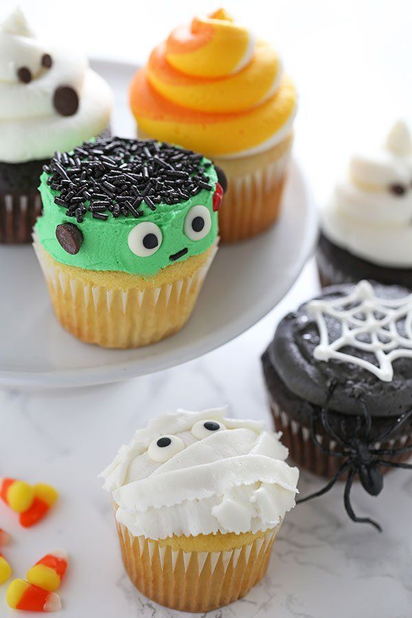 how to make halloween cupcakes - Decorating Cupcakes For Halloween