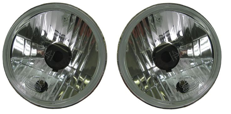 Round Halogen Headlights >>> Read more info by clicking the link on the image. #CarLights