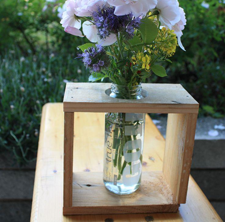 Retro Flower Vase