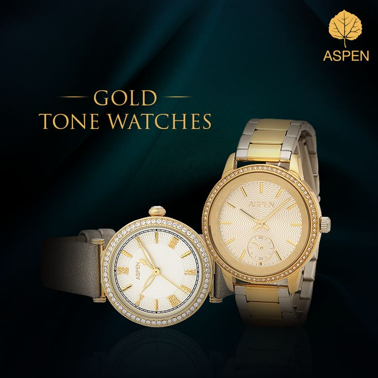 Which one of these would you make your signature timepiece?  #aspen #watch #style #gold