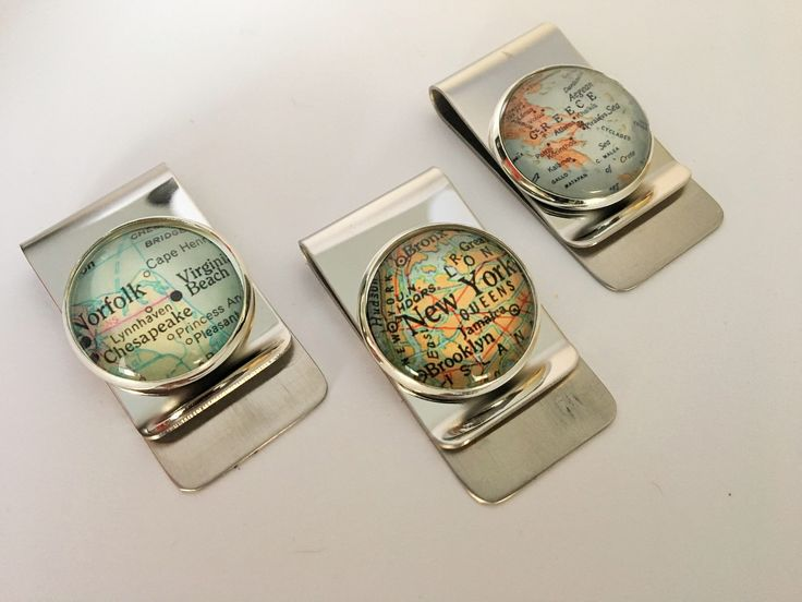A personal favorite from my Etsy shop https://www.etsy.com/ca/listing/560910986/custom-map-money-clip-any-city-unique