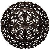 Found it at Wayfair - Leroy Handcrafted Medallion Wall Decor