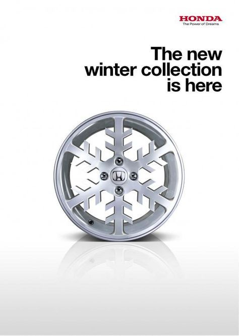 Honda: Snowflake | creative advertising