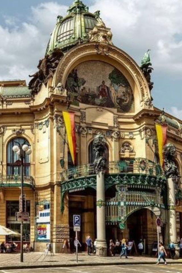 Casa Municipal de Praga.
