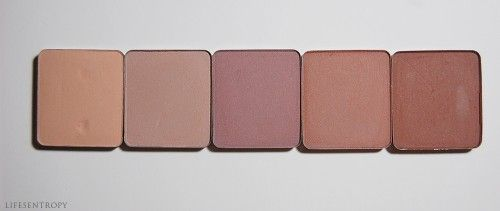 Inglot Eyeshadows Matte - The shades you need: 390, 344, 337, 342, 360