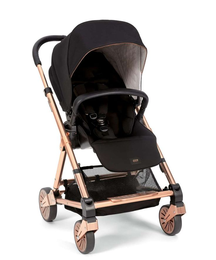 Signature Edition Black/Rose Gold Urbo² Stroller - New Arrivals - Mamas & Papas
