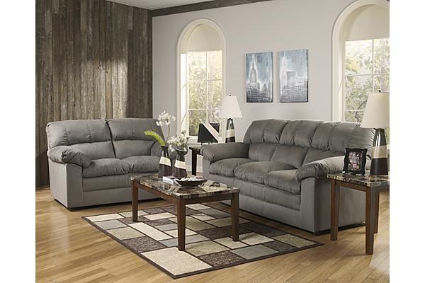 The Keanna Cobblestone Sofa From Ashley Furniture