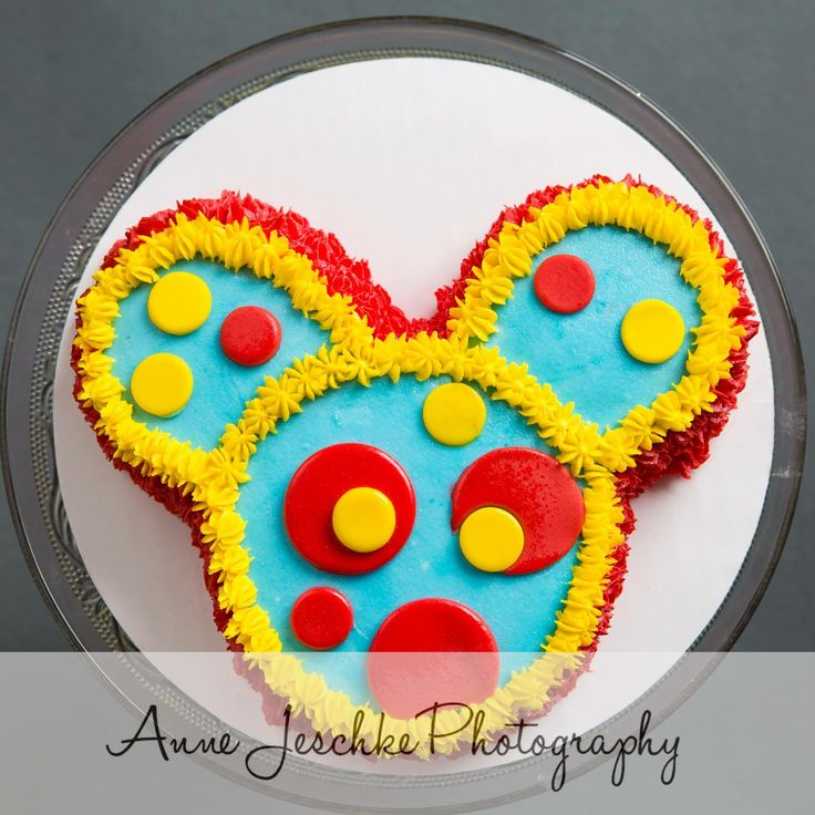 Toodles Mickey Mouse clubhouse smash cake