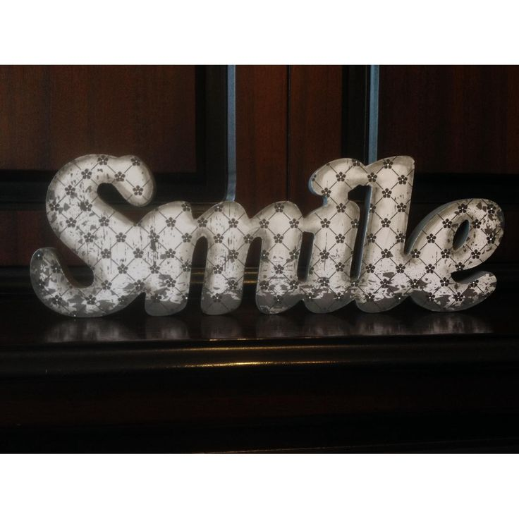 $25 Wooden Smile Decoration by NamedInStyle on Handmade Australia