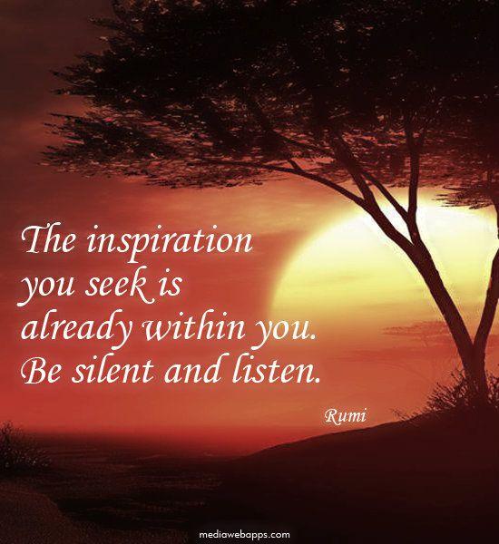 Silent Inpiration …