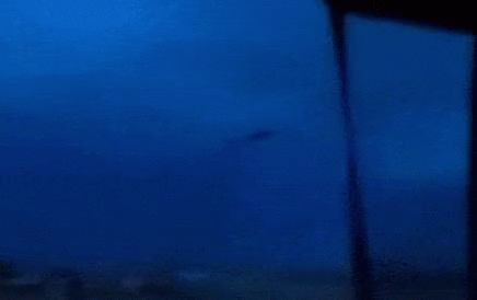 """theparanormalblog: """"UFO Materializes Over a Nebraska Highway?While driving down a highway between Alma and Republican City, Nebraska on April 2nd, 2015, a witness named KeriLeigh Shriver captured this bizarre video of a dark object seemingly..."""