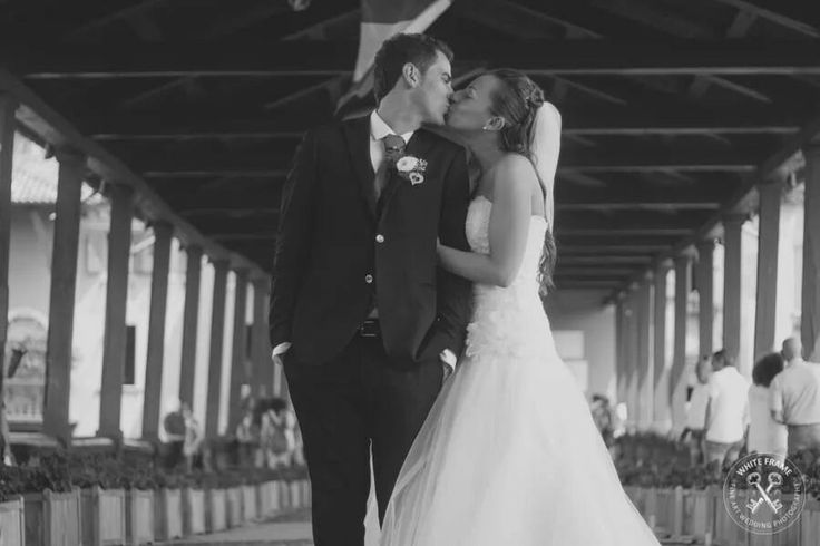 The bride and the groom // Wedding // love